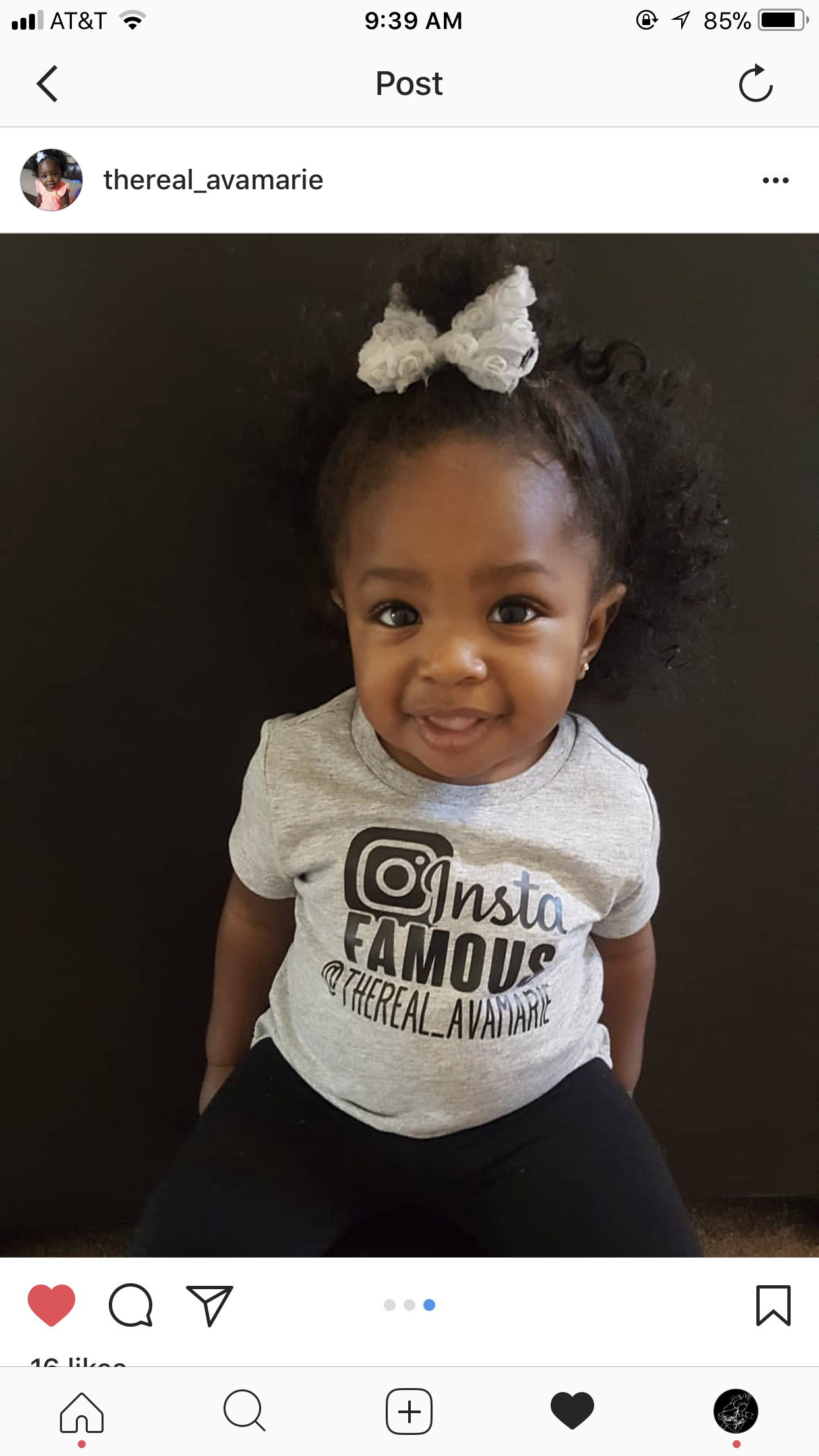 Insta famous instagram ig brand rep instagram handle baby fashion kids tee