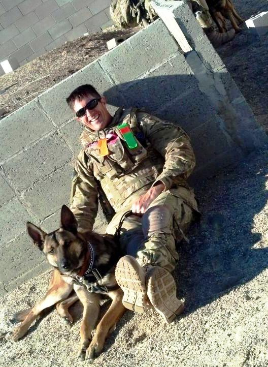 Together: Jeremy & Tactical Explosive Dog David...