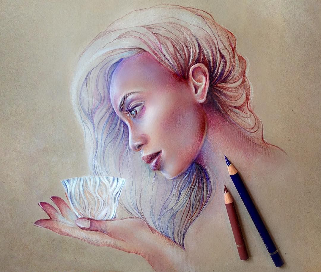 Such Gorgeous Colors And Softness: Beautiful Soft Pastel Color Drawings By Georgina Kreutzer