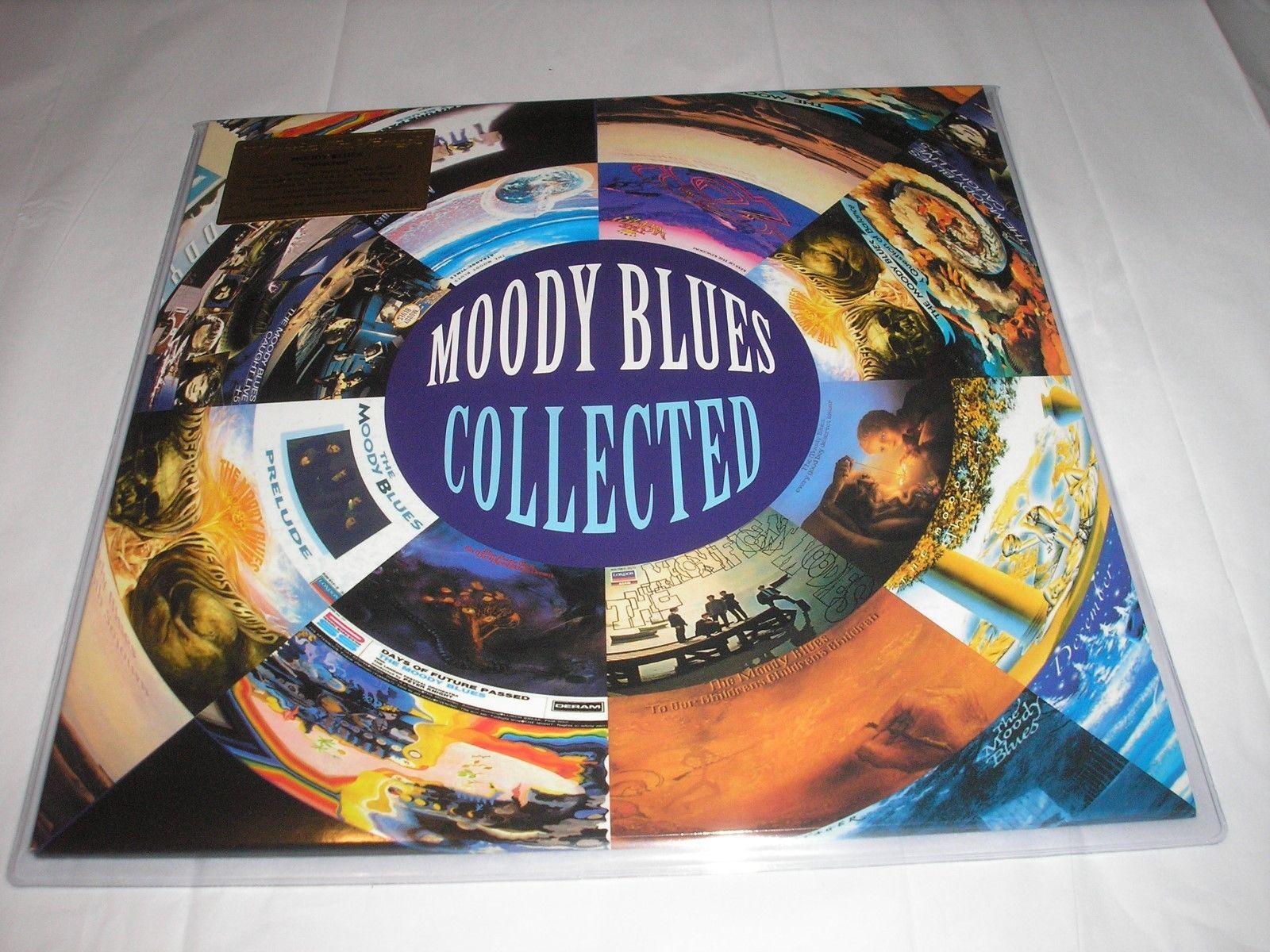 The Moody Blues Collected 2 Lp 180 Gram Purple Vinyl Ltd Numbered Ed New Sealed Moody Blues Vinyl Sales Vinyl Music