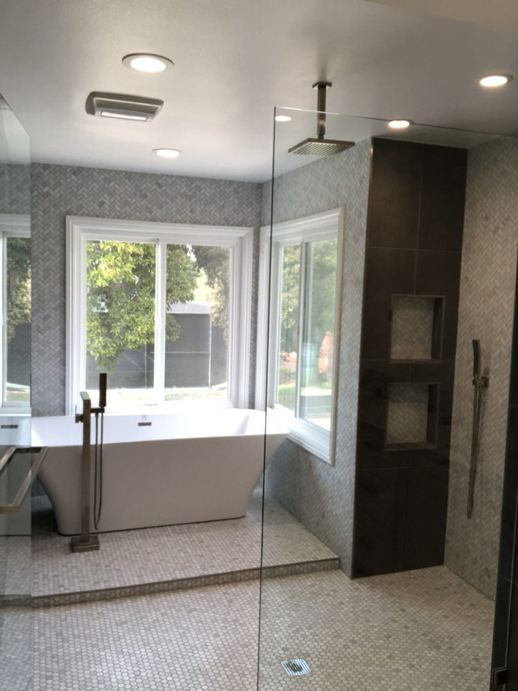Bathroom Remodeling Frame Less Shower Doors Walk In Tubs Jetted