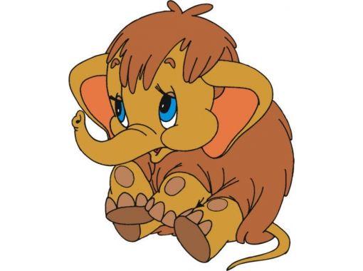 Мамонтенок фото из мультика 3 | Рисунки слона, Мультяшные ...