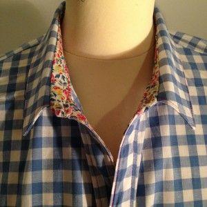 Chemise à carreaux sur lagouagouache.com