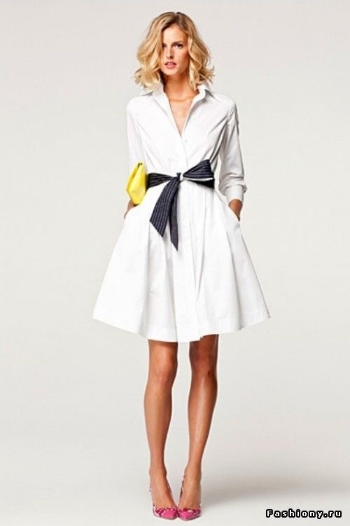 Carolina Herrera Never Dissapoints 3 Cougar Dating Website White Shirt Dressesnavy