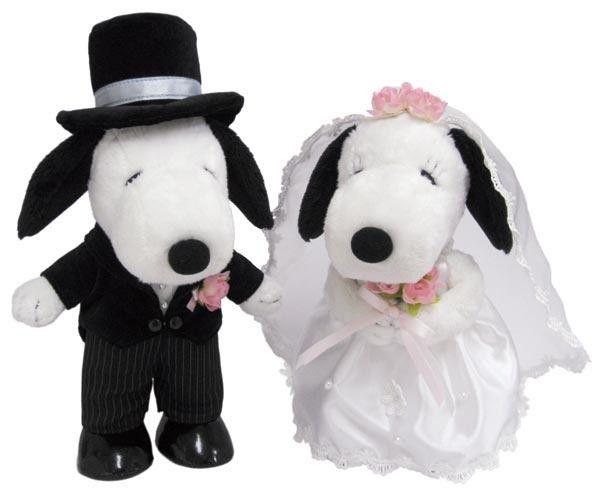 スヌーピースヌーピーベル ウェディング 洋風結婚のお祝いにピッタリ