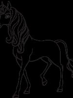 mia and me 15 | ausmalen, ausmalbilder pferde zum ausdrucken, ausmalbilder