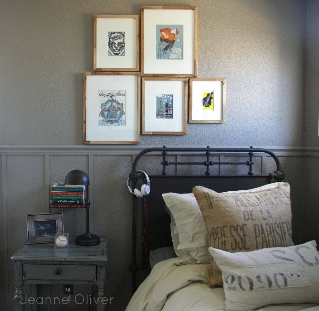 Creative Bedrooms That Any Teenager Will Love: Teen Boy Bedroom Makeover {before And After}