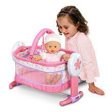 Fisher Price Little Mommy Sleep 'n Play Playard by Fisher Price. $38.98. This playard rocks--literally! A charming addition to your little mommy's nursery, this unique, mesh-sided playard is both a stimulating play space with toy bar, and relaxing mini-crib where she can rock her baby doll into sweet sleep. Doll not included.