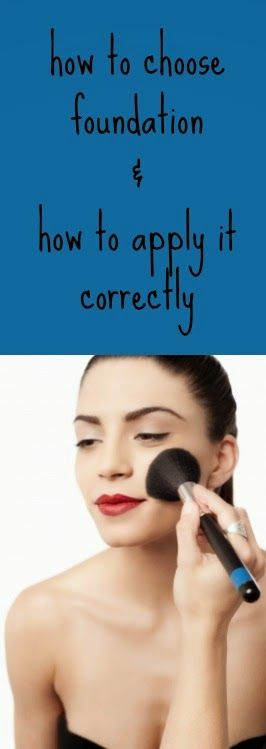 How to Use Foundation Makeup