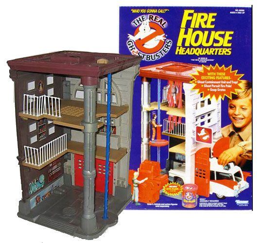 Best Ghostbuster Toys : The real ghostbusters fire house headquarters