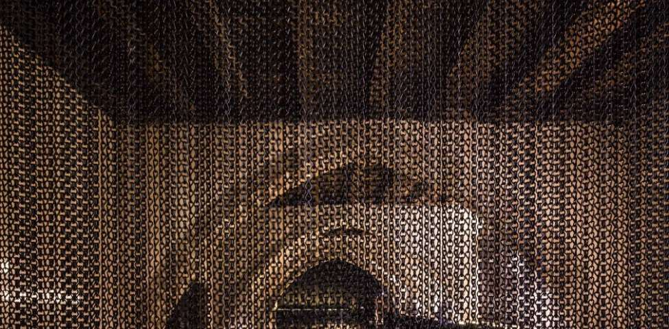 Occidens Museum (Pamplona Cathedral) Kriskadecor metal curtains for decor, interior design architecture, art, lighting and much more