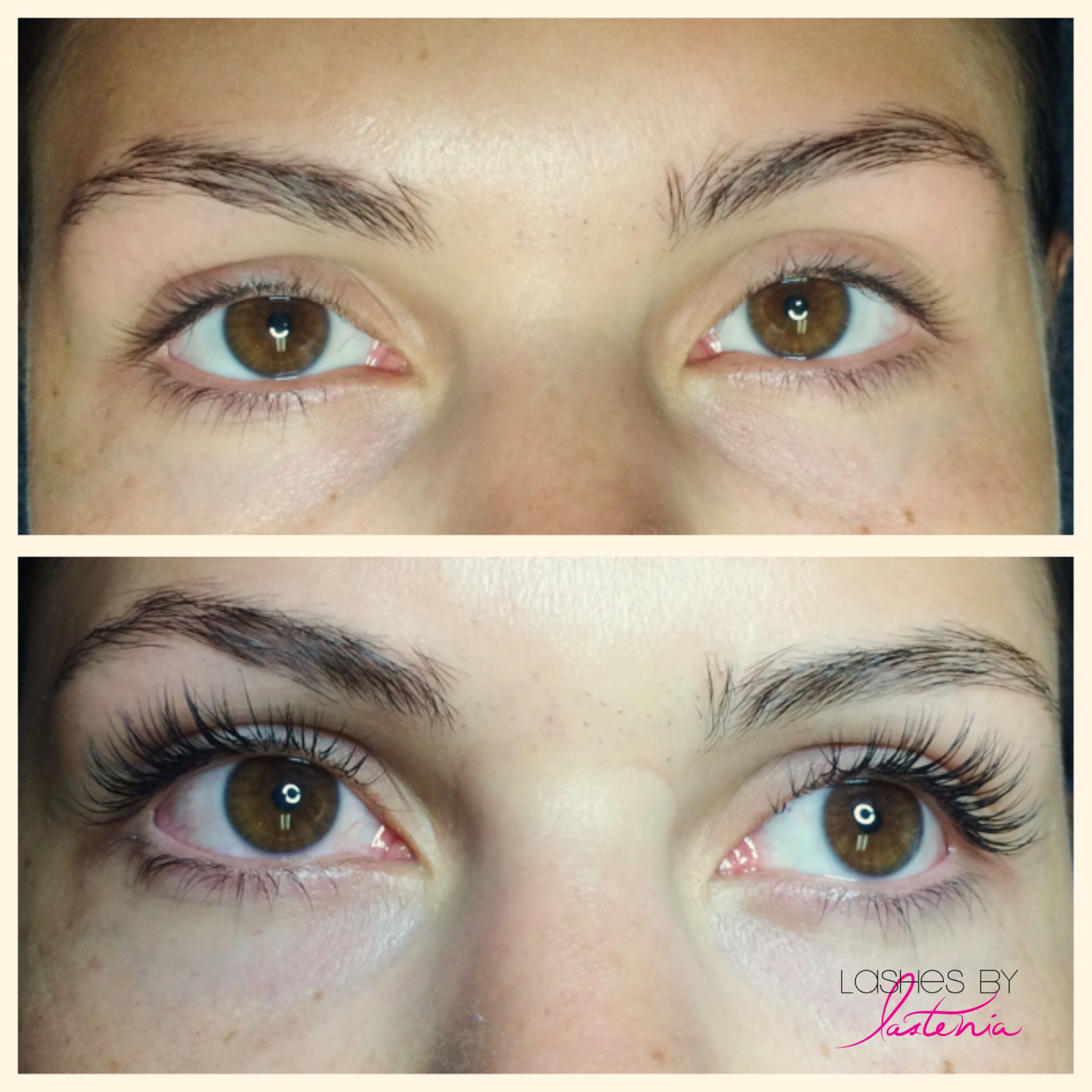 Full Set 40x Thick Xtreme Lashes Ranging 8 11mm C Curve 15 Mm