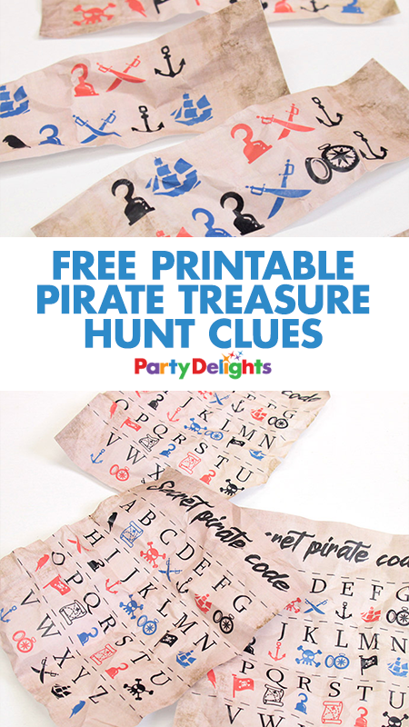 Our Free Printable Pirate Treasure Hunt Clues For Your Scavenger A Fun Party That Can Be Played Anytime Of Year