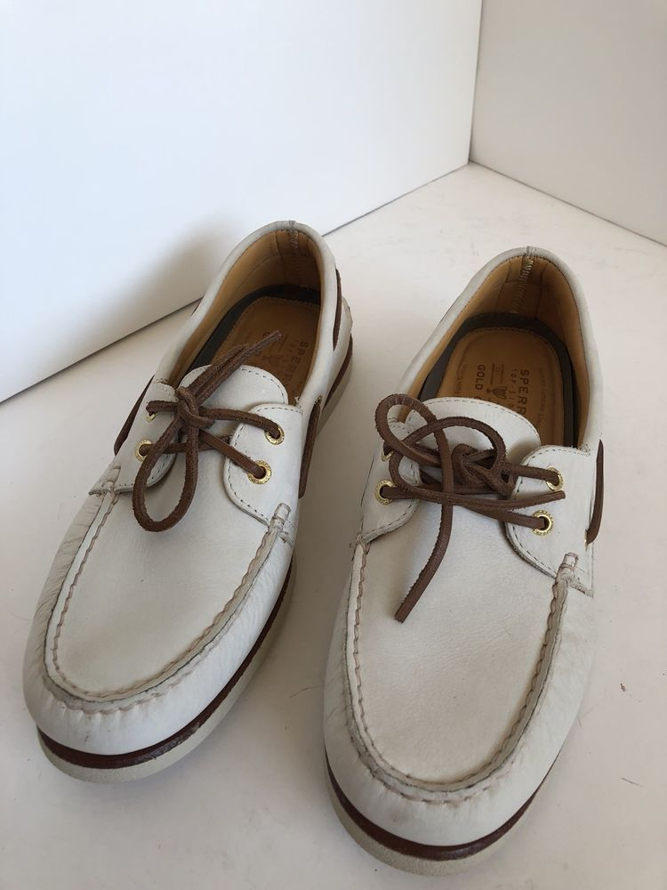Sperry Top-Sider Men Leather White