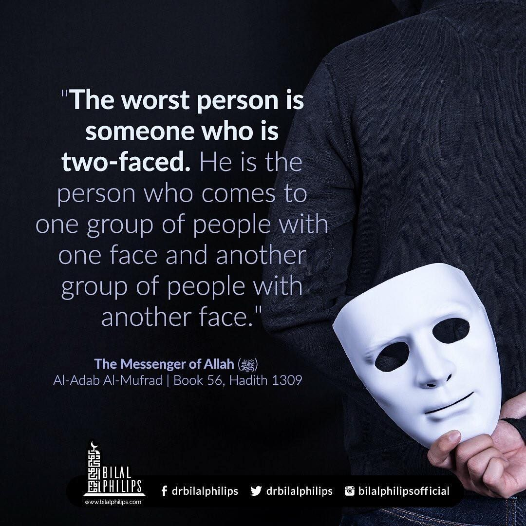 The Worst Person Fake People Quotes Face Quotes Two Faced Quotes
