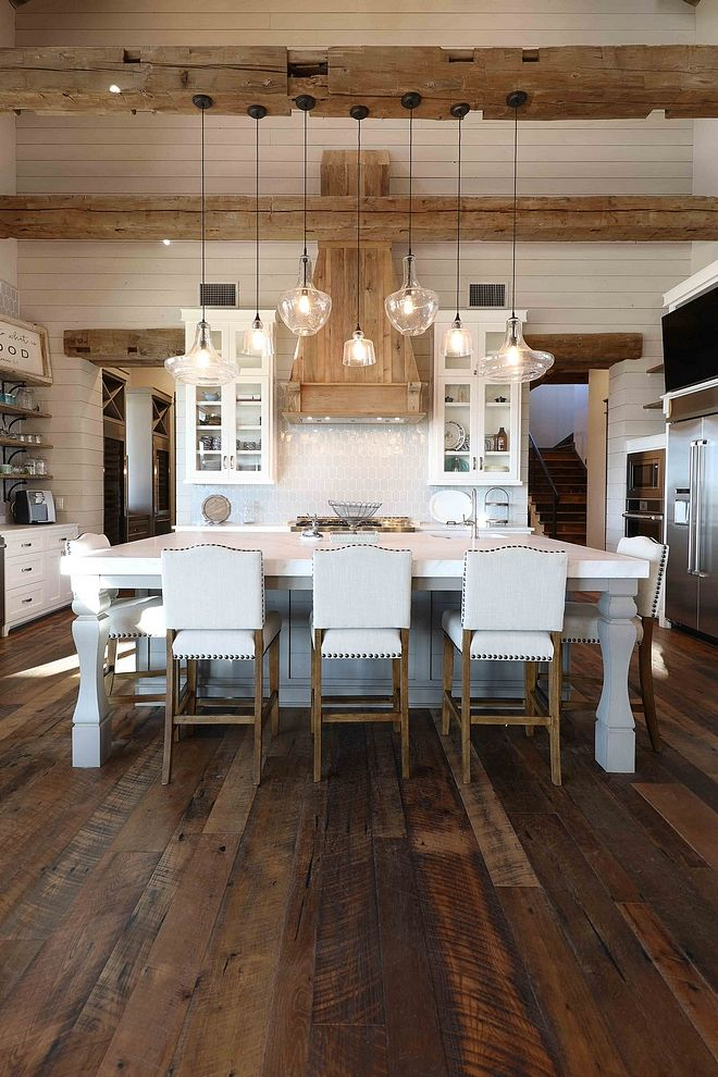 kitchen white beams, kitchen granite, kitchen natural beams, kitchen tv, kitchen ceiling lights, kitchen ceiling planks, kitchen renovations, kitchen bay windows, kitchen ceiling beams, kitchen stone, kitchen arches, kitchen brick walls, on reclaimed rustic beam kitchen ideas
