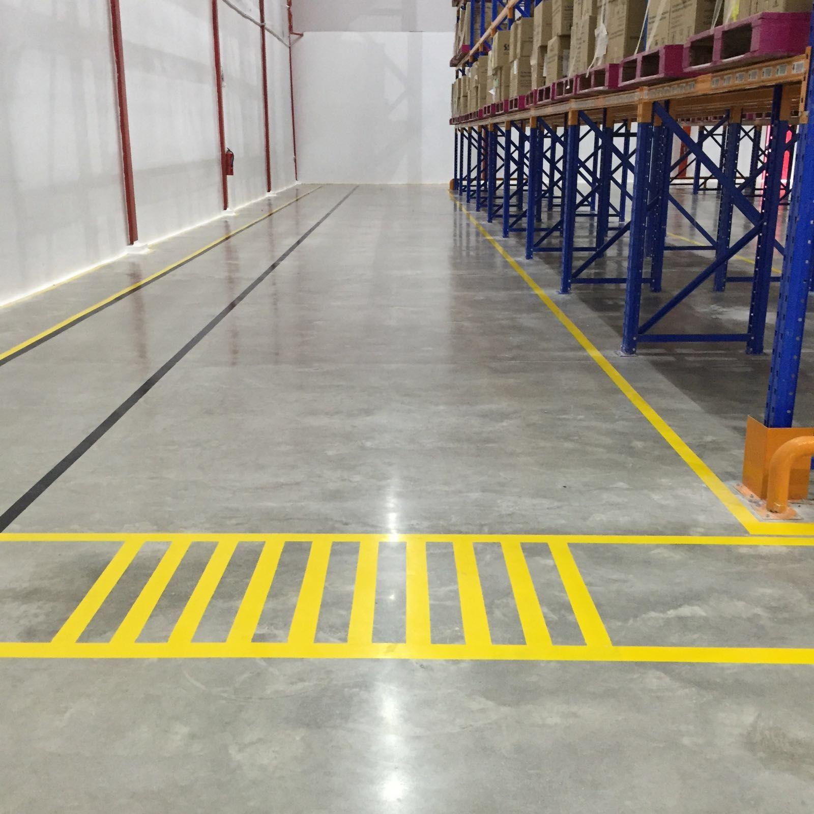 DB Schenker - Polished Concrete Floor Indonesia