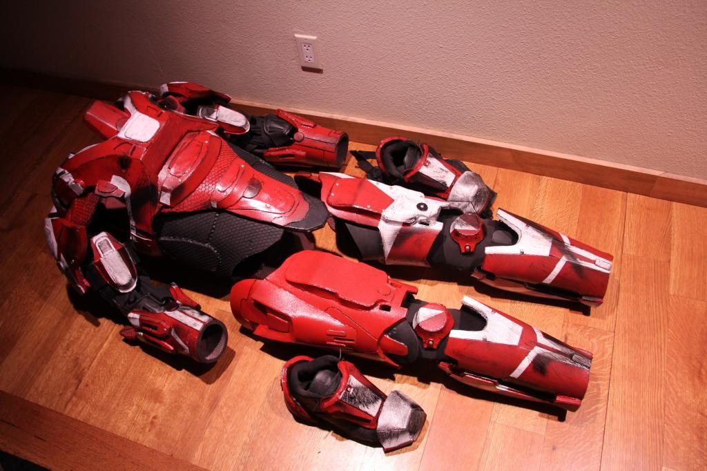 EVA Templates - Impact Props - Halo Spartan Armor Foam