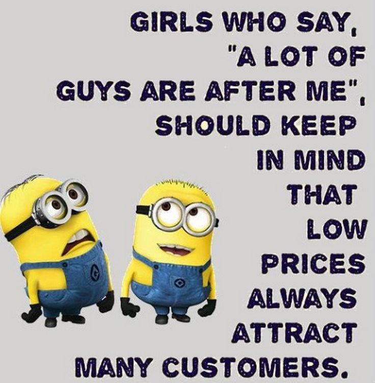 Humorous Minions pics with quotes (03:05:31 PM, Sunday 31, January...