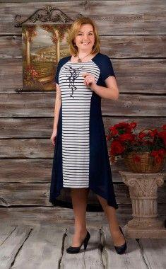 5aa743a3a20 Белорусские трикотажные платья больших размеров