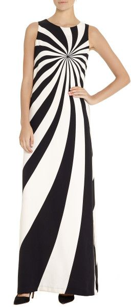 Elements Of Design Line A Lisa Perry Dress Uses Line To Draw Emphasis To The Top Half Of The Body Source Http Www Dress Drawing Black Maxi Dress Fashion