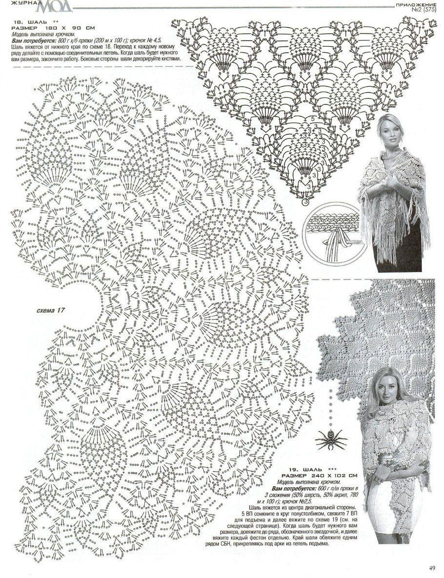 Crochet So Beauty Pineapple Shawls Make Handmade Craft All Shawl Stitch Diagrams Doris Chan