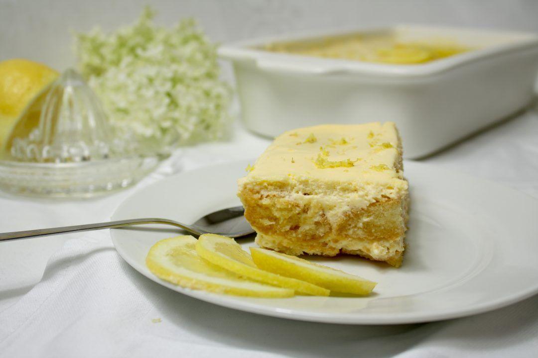 Zitronen Tiramisu ...so schmeckt der Sommer #löffelbiskuitrezept