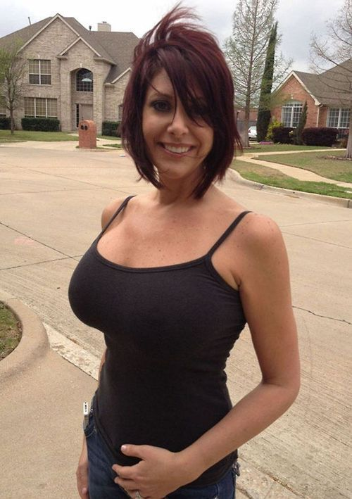 Hot red headed milf