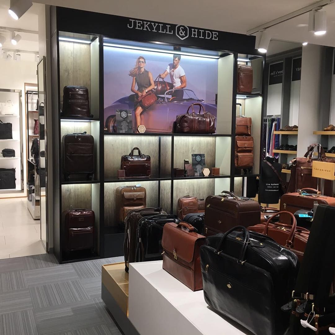 You can now find us in Gateleven at Lisbon International Airport Terminal 1  ______________ #liveauthentic #lifeadventures #jekyllandhide #luxury #airport #airportshopping #luggage #travel #luxurytravel