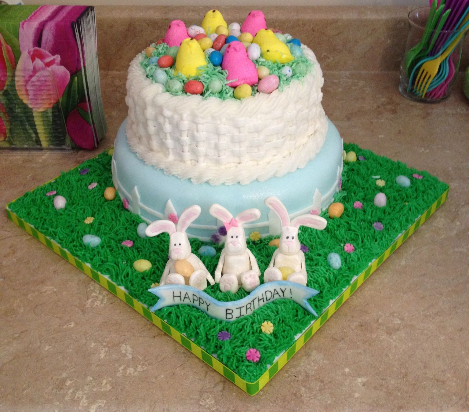 Easter Birthday Cake
