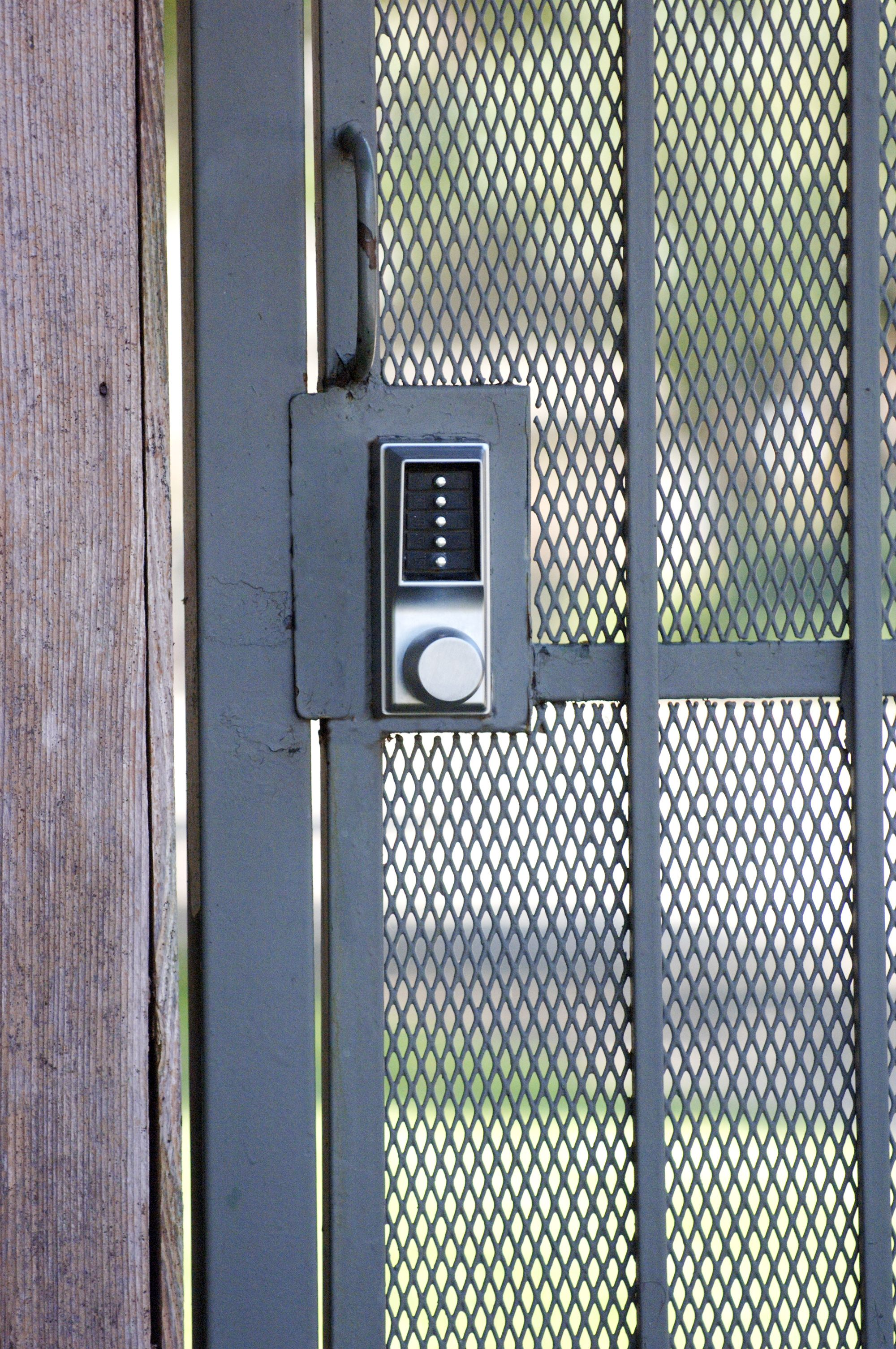 Mechanical Push Button Key Locks Are Great For Security Gates