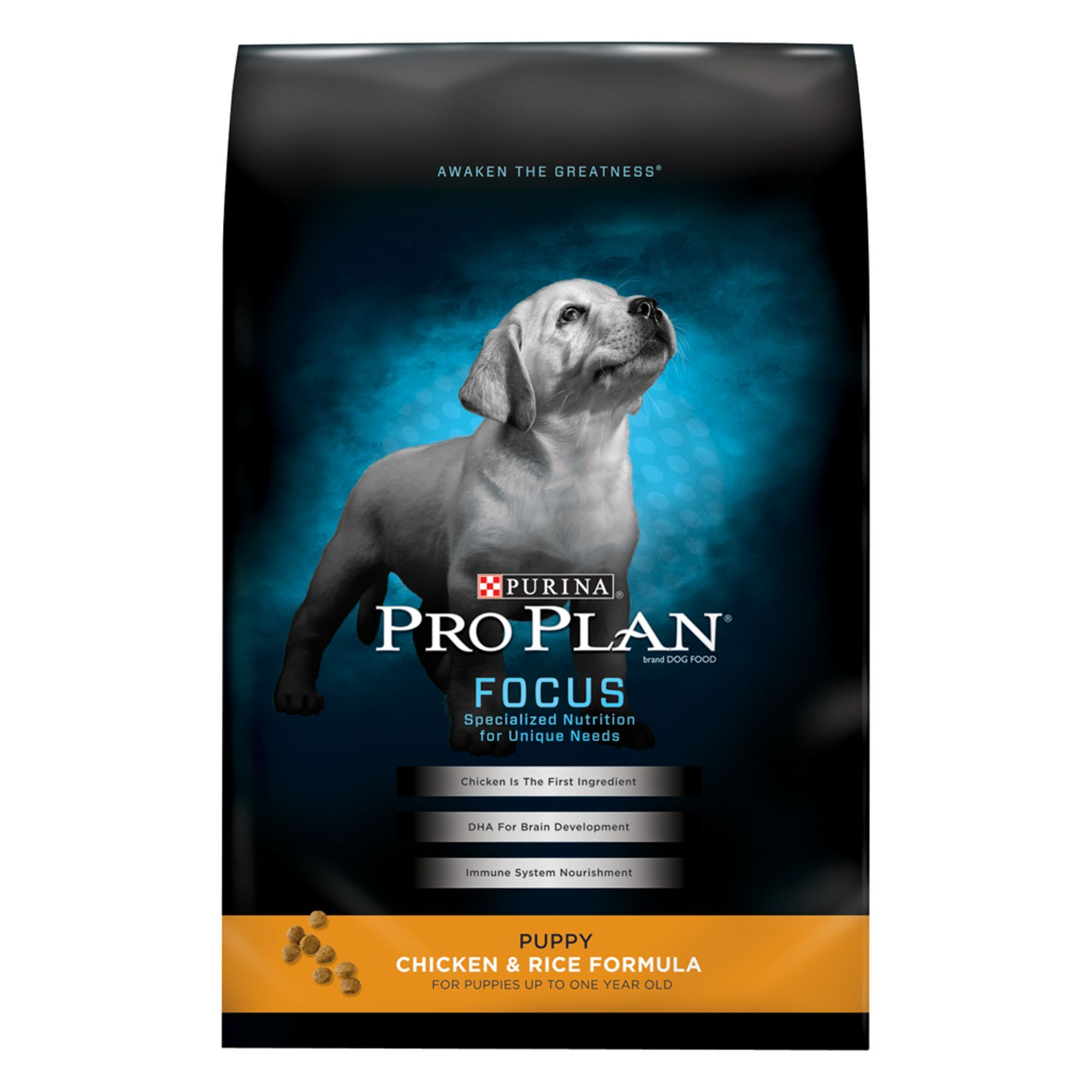 Purina Pro Plan Puppy Food Size 34 Lb Bone Copper Zinc Chicken