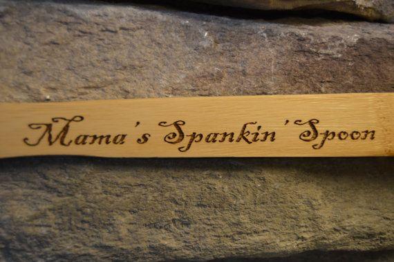 Wooden Spoon Spanking Spoon Personalized Wooden Spoon