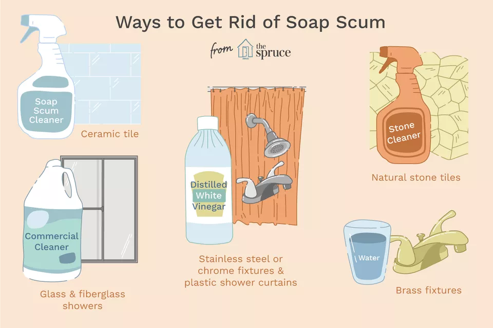 Get Rid of Soap Scum on Every Bathroom Surface