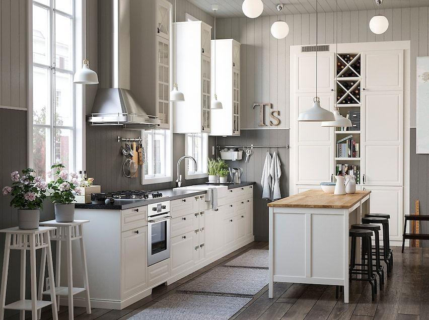 Encuentra La Cocina De Tus Sueños Ikea Kitchen Inspiration Ikea Kitchen Storage White Ikea Kitchen