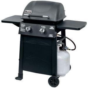 Maxfire Torch 2 Burner Propane Gas Grill 810 9213 Sb At The Home Depot Tablet Propane Gas Grill Gas Grill Grilling