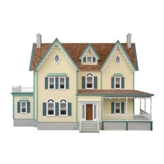 Image 0 Wooden Dollhouse Kits Dollhouse Kits Wooden