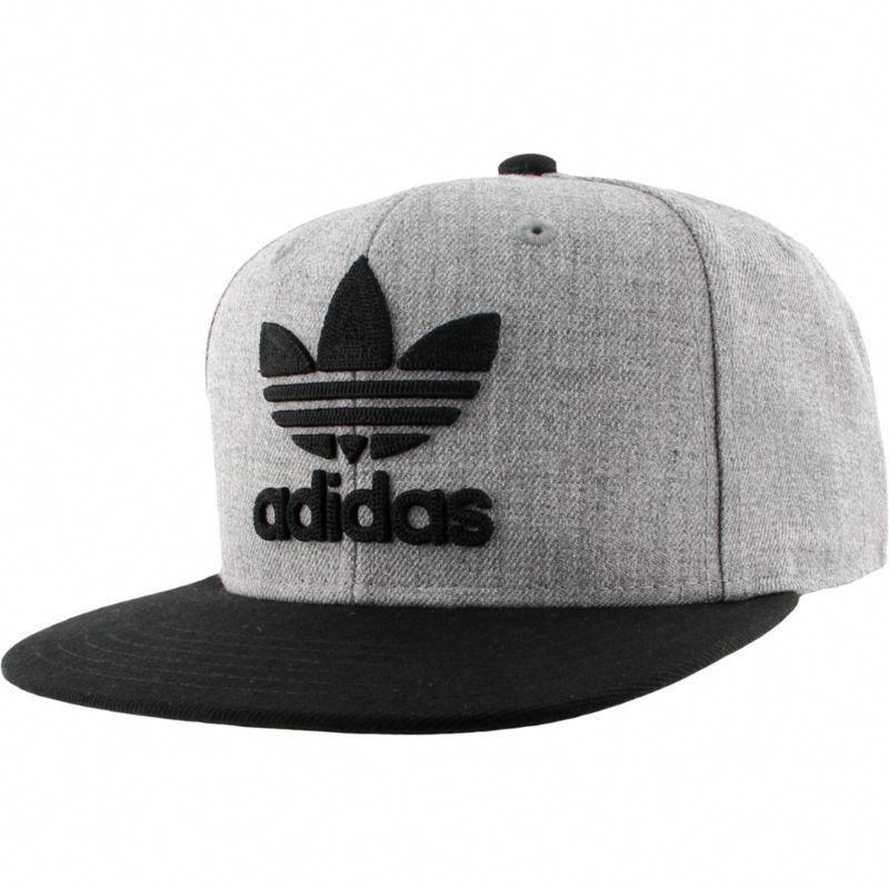 9e0a55cc90a adidas Men s Originals Trefoil Chain Snapback Hat