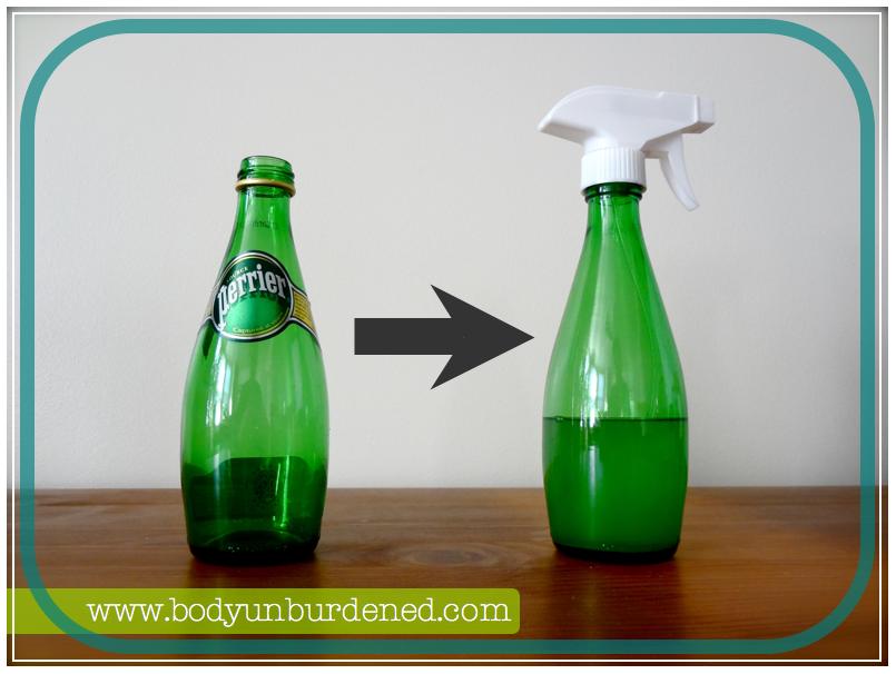 body unburdened diy glass spraybottle for all of your natural diy needs