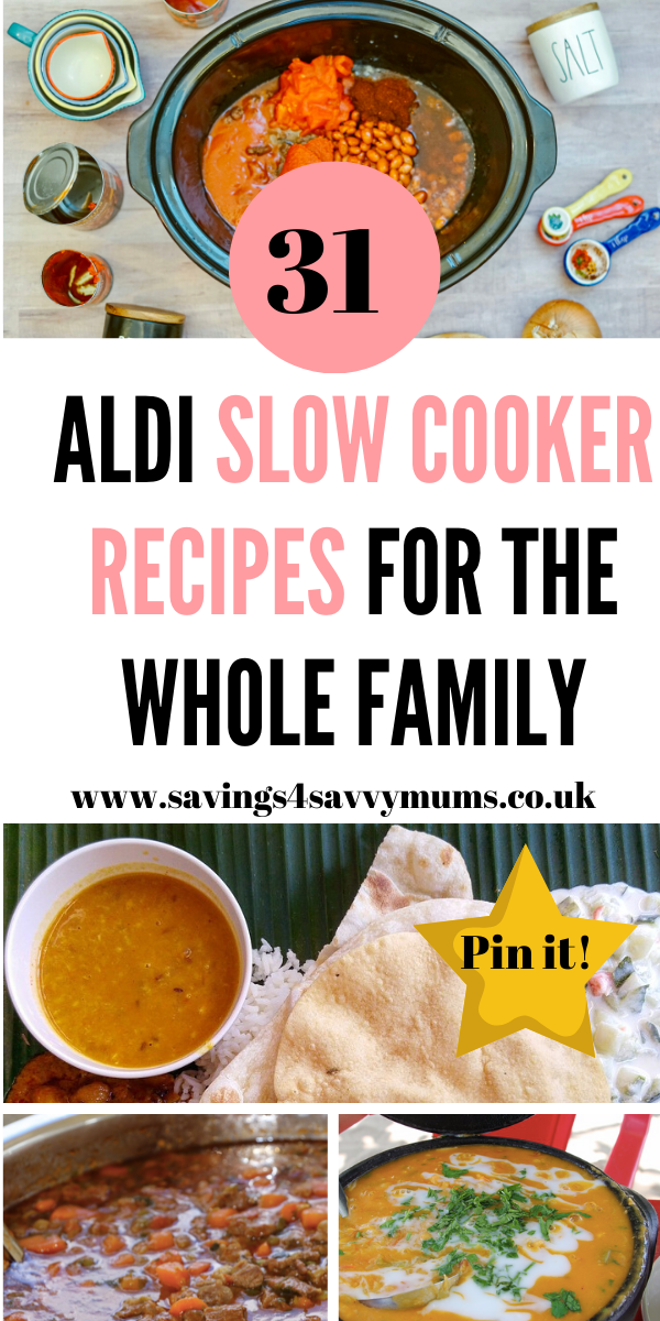 31 Aldi Slow Cooker Recipes For The Whole Family Slow Cooker Recipes Cooker Recipes Slow Cooker Recipes Family
