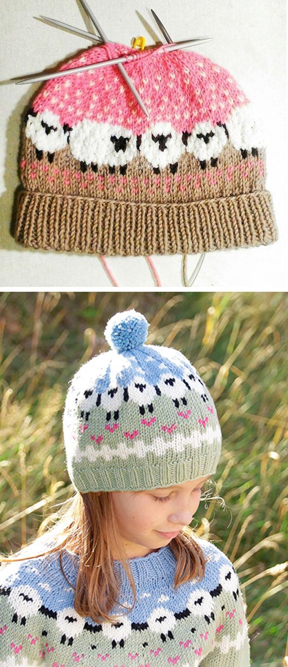 Photo of Lamb Dance Hat – Free Pattern