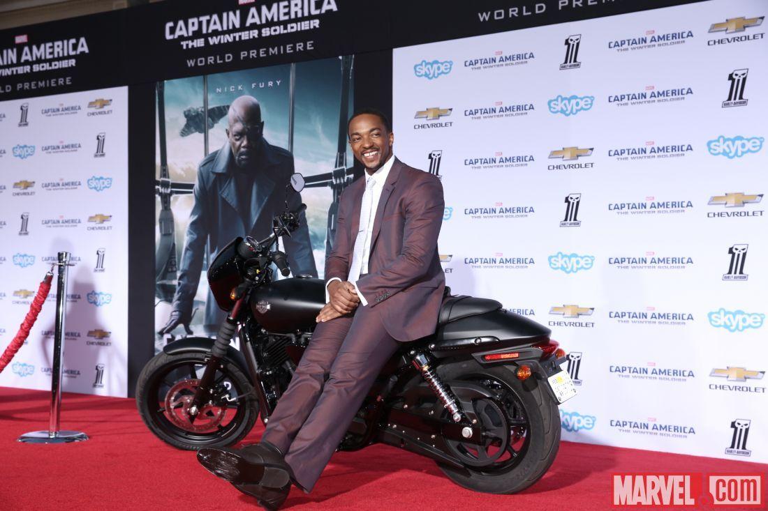 H D Street 750 Hits The Red Carpet Harley Davidson Captain America Winter Soldier Marvel Captain America