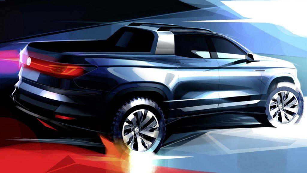 Volkswagen Pick Up 2020 Truck design, New pickup trucks