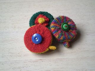 Tape Measure Cover - Free Pattern by Frankie Brown on Ravelry