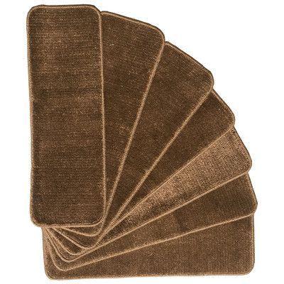 Best Ottomanson Softy Brown Stair Tread Stair Treads Stair 400 x 300