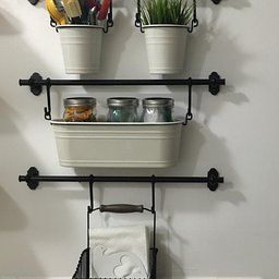 Amazon.com: Customer Reviews: Ikea Steel Wire Basket with Handle 102.381.48, 7.75-inch, Black