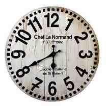 b4709d809314 MERCADO LIBRE  229 Reloj Madera Mdf Pared Vintage Pilas 2 Modelos Blanco  Negro