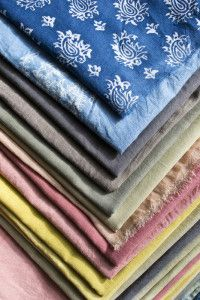 Jaké přírodní barviva na tkaniny používali Slované