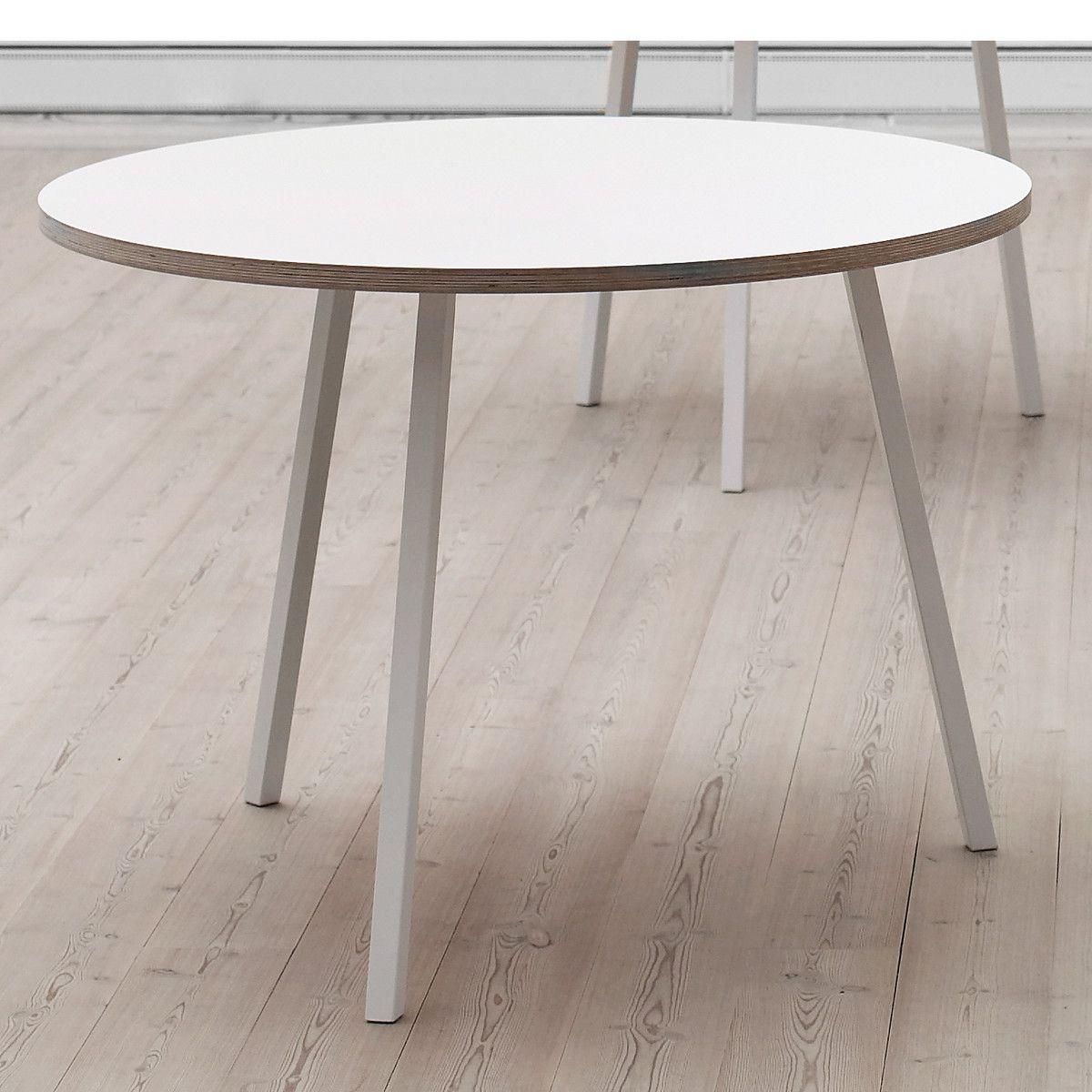 Loop Stand Tisch Rund Von Hay Im Shop In 2020 Tisch Runder Esstisch Esstisch