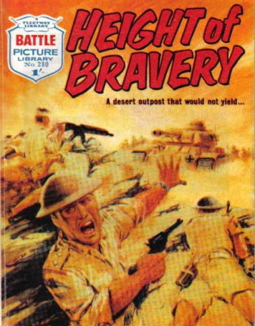 Battle Picture Library #280 - Height of Bravery (Issue)16